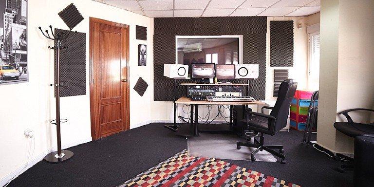 Estudio de grabación profesional Madrid