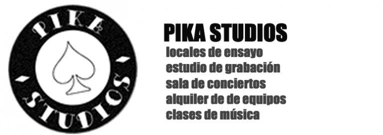 Pika Studios · Alquiler de estudio de grabación y locales de ensayo en Madrid