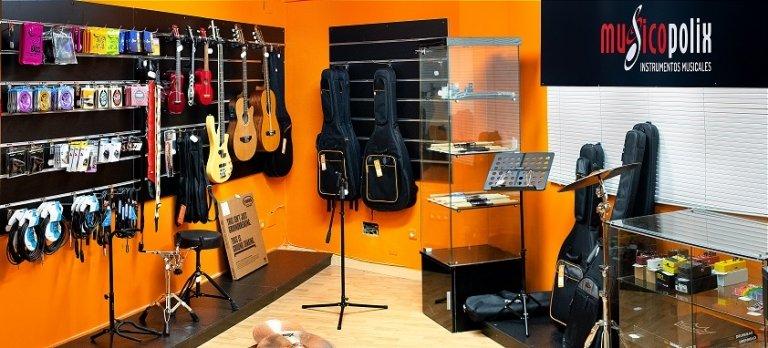 Tienda de música Leganés