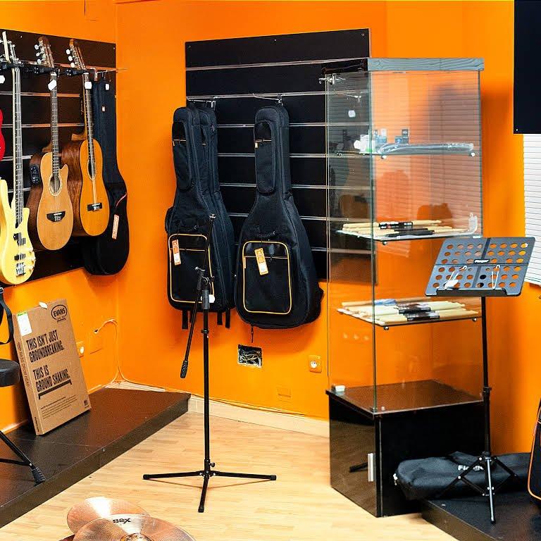 Tienda instrumentos musicales legan s pika estudios - Instrumentos musicales leganes ...